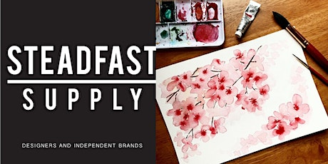 DIY Workshop | Learn How to Paint Cherry Blossoms w. Watercolors tickets