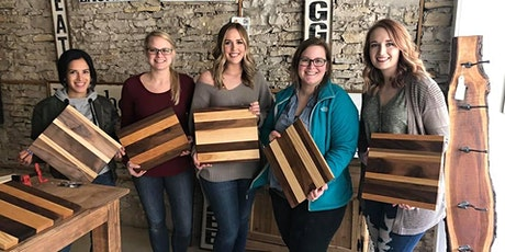 Build your own cutting board  tickets