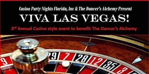 The Dancer's Alchemy Presents the 3rd Annual Viva Las Vegas Casino Night