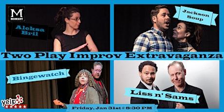 Two Play Improv Extravaganza (Jan 2020) tickets