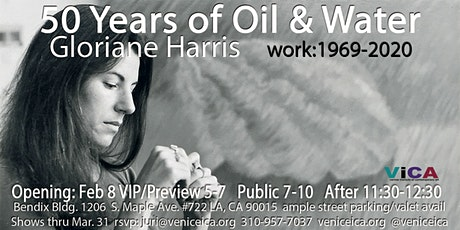 50 Years of Oil & Water - Gloriane Harris 1969-2020 tickets