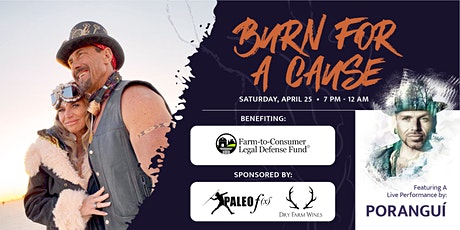 Paleo f(x)™ Presents: Charity Celebration 2020 - Burn For A Cause tickets