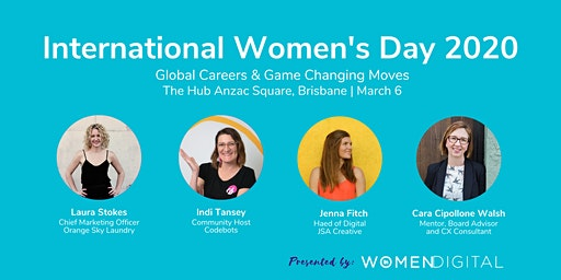 International Womens Day 2020: Global Careers & Game Changing Moves
