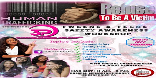 Refuse to Be a Victim Workshop for Tweenagers