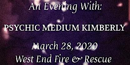 An Evening with PSYCHIC MEDIUM KIMBERLY