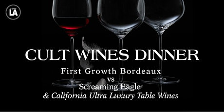 wineLA Presents: Cult Wines Dinner at CUT Beverly HIlls tickets