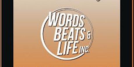 Words Beats and Life Happy Hour at Capo Backroom tickets