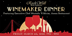 Rock Wall Winemaker Dinner featuring Executive Chef...