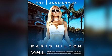 Paris Hilton @ Wall Lounge Friday January 31st tickets