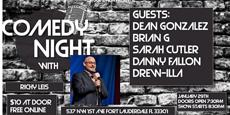 "Comedy Night with ""Richy Leis"" at Next Door at C&I tickets"