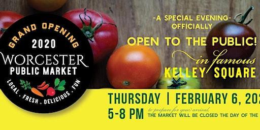 Worcester Public Market Grand Opening!