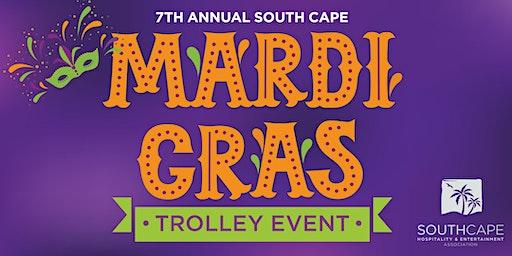 7th Annual Mardi Gras Trolley Event
