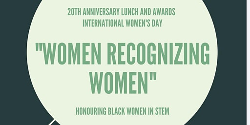 "International Women's Day: ""Women Recognizing Women"""