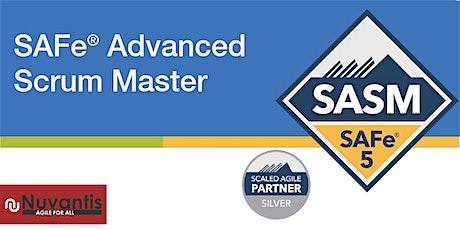 NEW -  SAFe® Advanced Scrum Master 5.0 ( Edison, NJ) - Confirmed to Run tickets