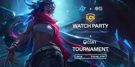 LCS Watch Party + Tournament tickets
