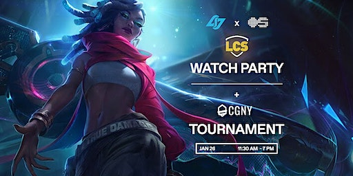 LCS Watch Party + Tournament