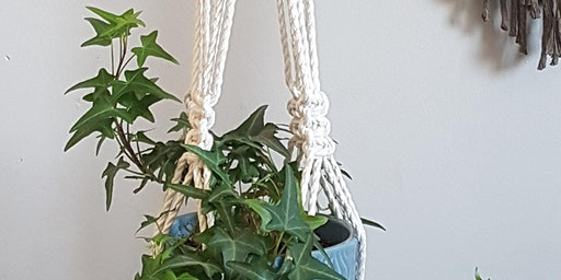 Macrame Plant Hanger~ Blackstar Boho Macrame Workshop