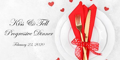 Kiss & Tell 2020 - Fredericksburg's Premier Progressive Dinner