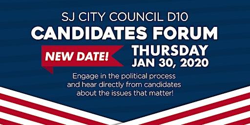 San Jose City Council D10 Candidates Forum