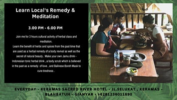 Learn Local's Remedy & Meditation