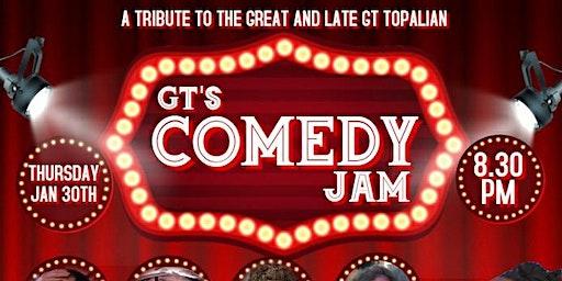 GT's Comedy Jam at Liquid Zoo