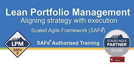 NEW - SAFe® Lean Portfolio Management 5.0 (Edison, NJ) - Confirmed to Run tickets