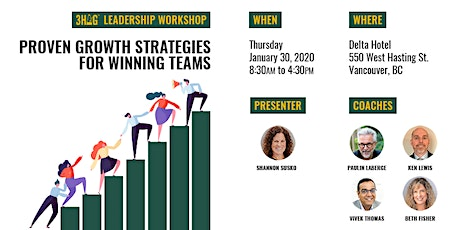 3HAG Way Workshop for Leadership Team tickets