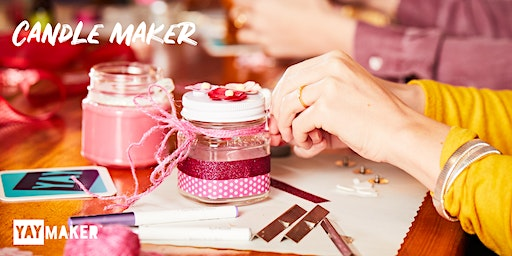Custom Candle Making and Sip Party