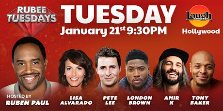 London Brown,Amir K, and more - Rubee Tuesday tickets