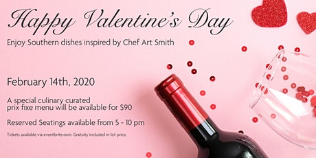 VALENTINE'S DINNER AT THE SOUTHERN ART tickets