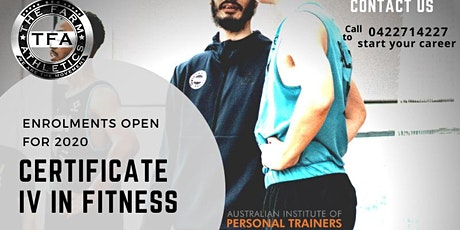 Certificate IV in Fitness ESPA Program -Information Session tickets