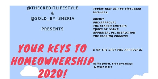 Your Keys To Homeownership 2020!