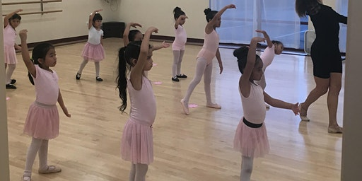 Beginner Ballet Kids 4-8 years old