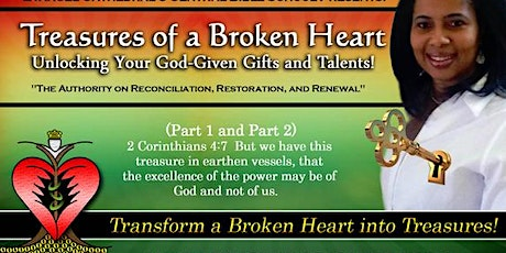 1 Day, 1 Book, 1 Decision - The MASTER CLASS - Treasures of a Broken Heart tickets
