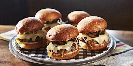 Burgers & Bourbon Happy Hour @ Bureau Bar & Restaurant tickets
