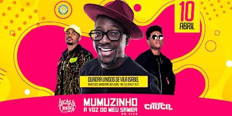 Mumuzinho - A Voz do Meu Samba ingressos