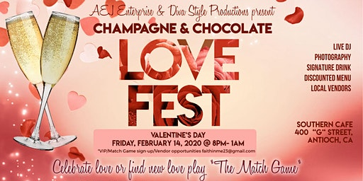 Champagne & Chocolate Love Fest