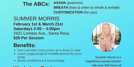 Yoga: The ABCs of Vinyasa Flow & Sun Salutations