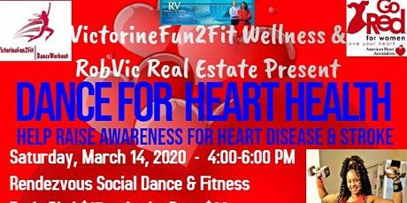 """DANCE FOR HEART HEALTH"" 2020 tickets"