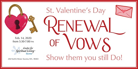 Renewal of Vows & Champagne Reception tickets