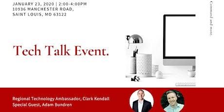 Tech Talk with Clark Kendall tickets