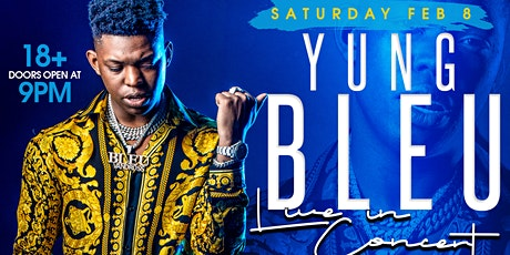 Yung Bleu live in concert February 8th @ ALQUIMIA NIGHTCLUB tickets