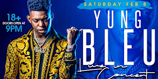 Yung Bleu live in concert February 8th @ ALQUIMIA