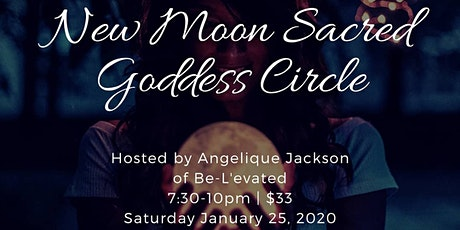 New Moon Sacred Goddess Circle tickets