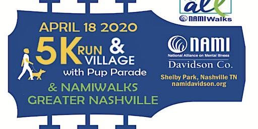 2020 NAMI Greater Nashville 5K Supporting NAMI Davidson Co.