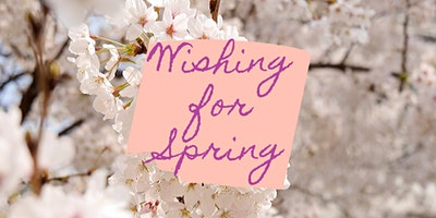 Wishing For Spring Sip-n-Shop