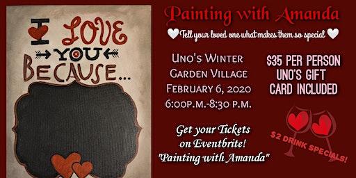 Painting With Amanda