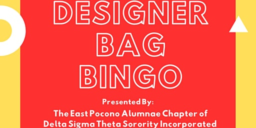 EPAC presents: Designer Bag Bingo