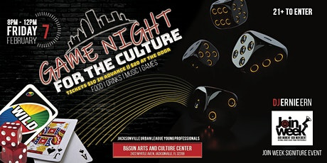 Game Night For The Culture tickets