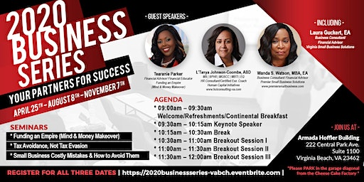 2020 Business Series:   Your Partners for Success
